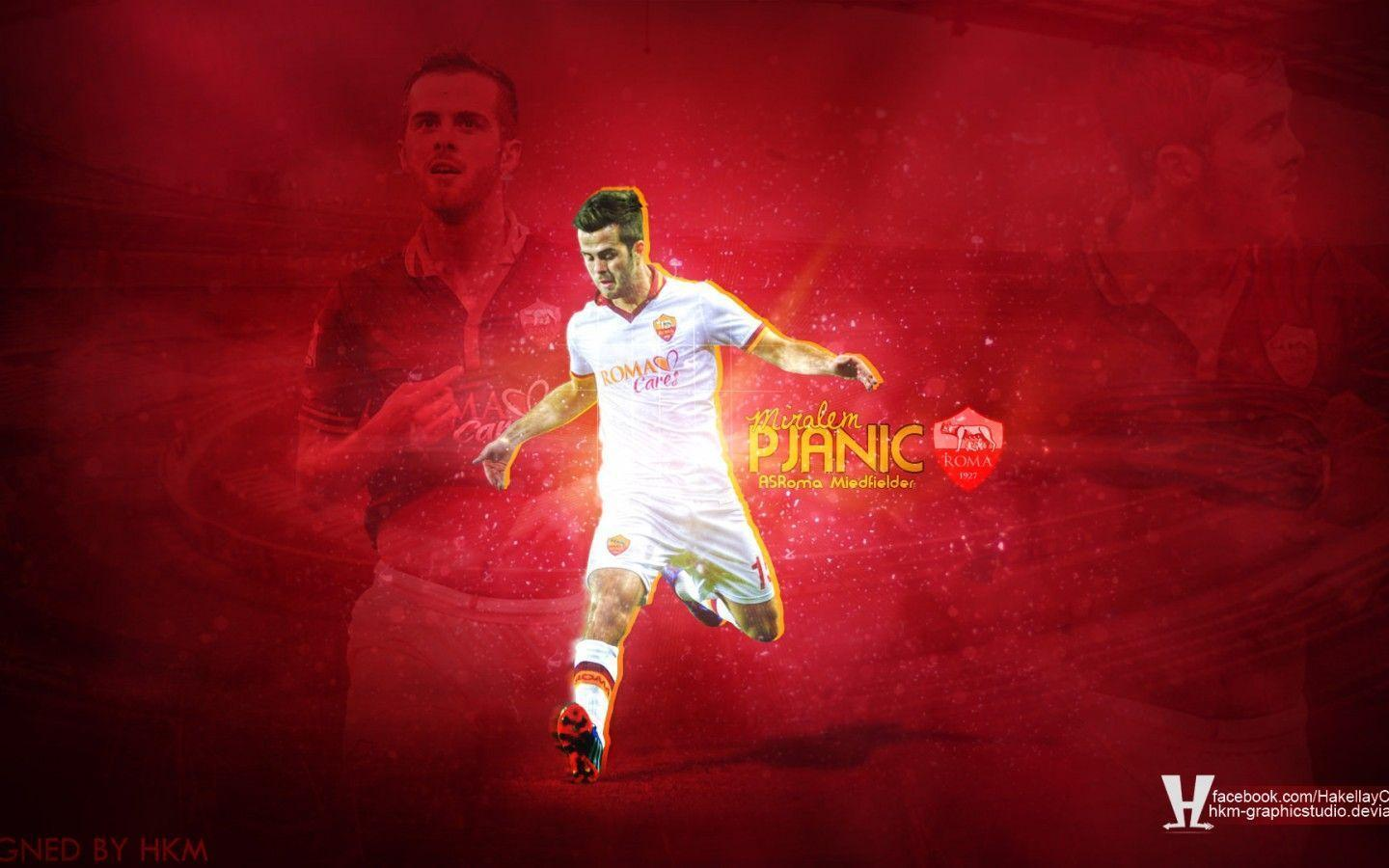Miralem Pjanic AS Roma Wallpapers