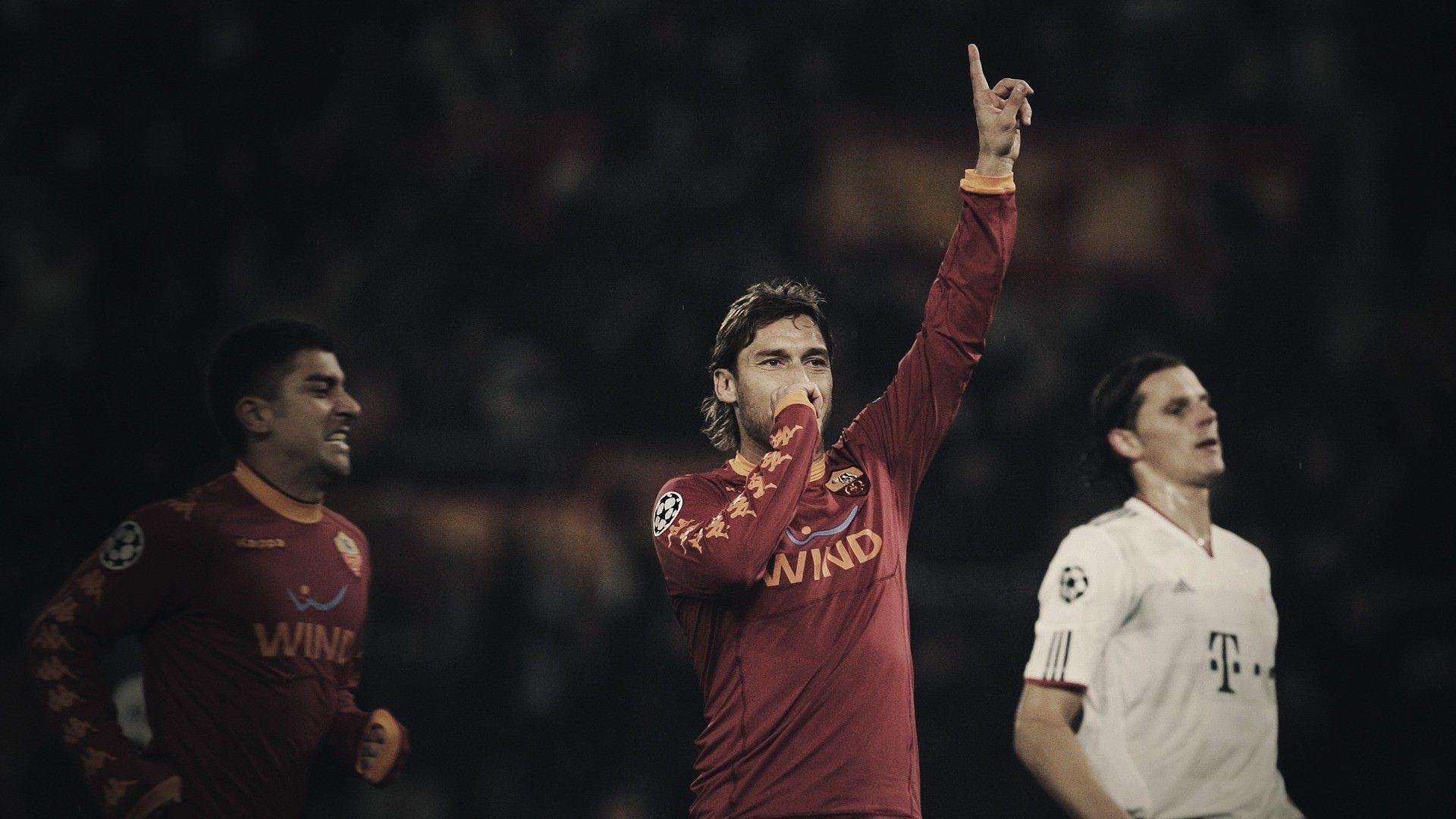 Francesco Totti, AS Roma Wallpapers HD / Desktop and Mobile