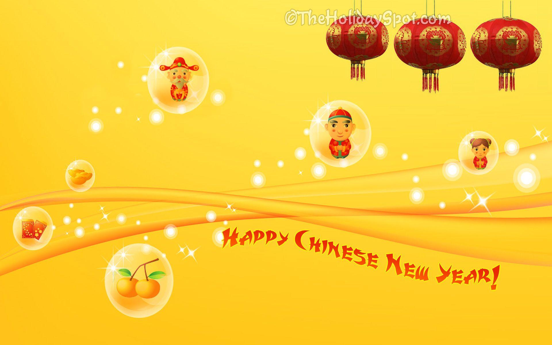Chinese New Year wallpapers at TheHolidaySpot