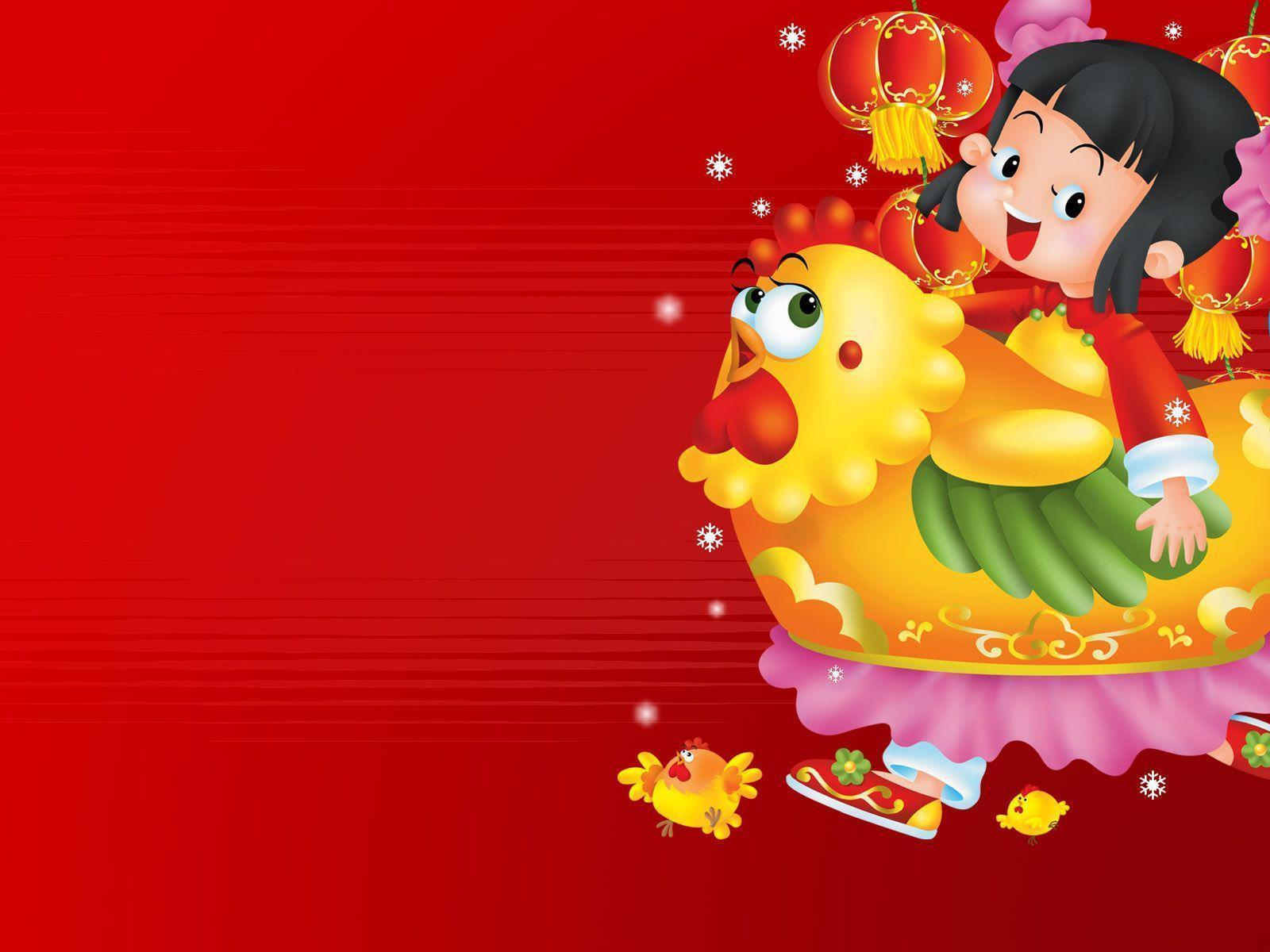 Vector Chinese New Year Wallpapers 4535