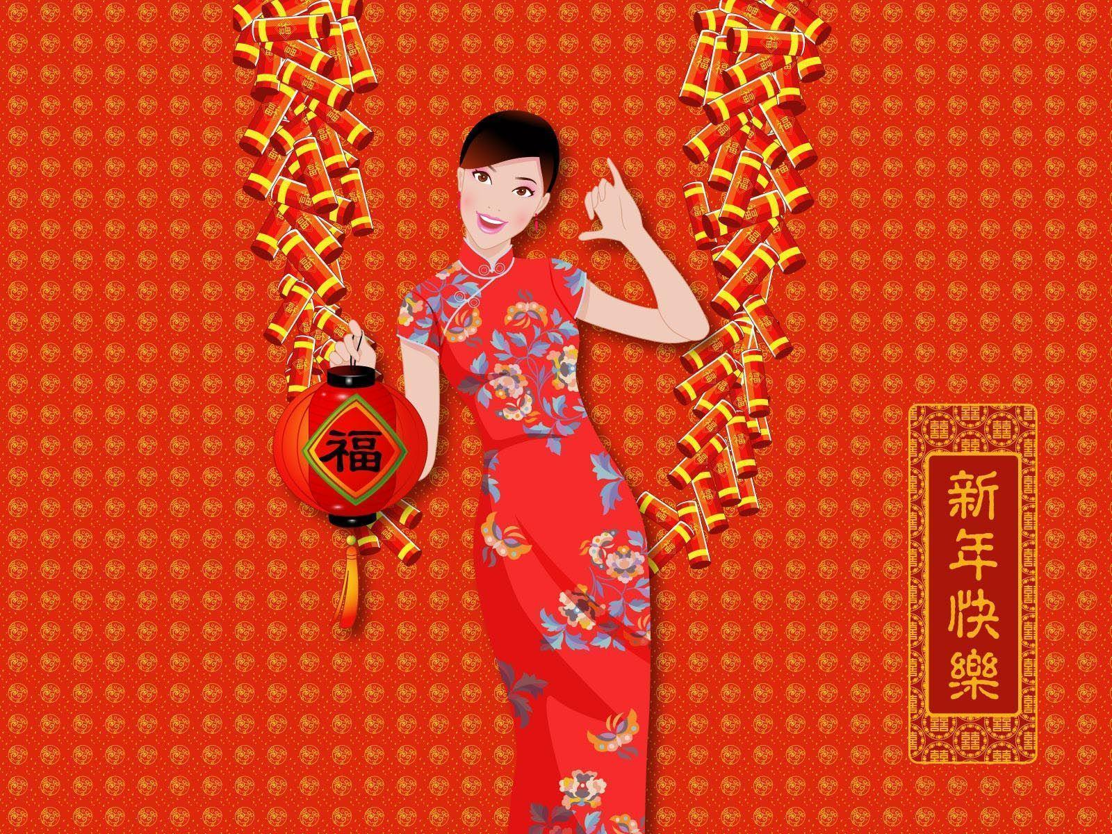 Vector Chinese New Year Wallpaper 3799 - New Wallpapers - Festival