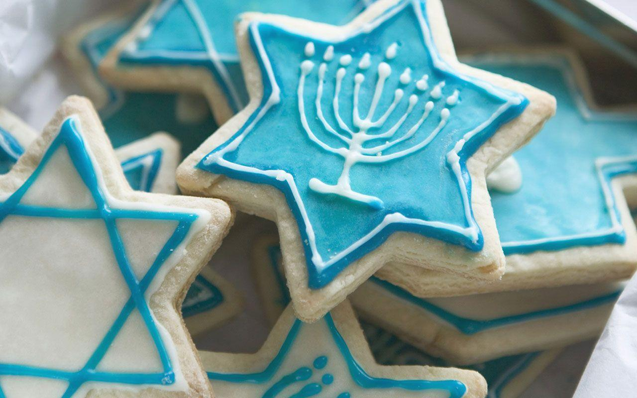 Chanukah cookie desktop wallpaper - Holiday Wallpapers - Free ...