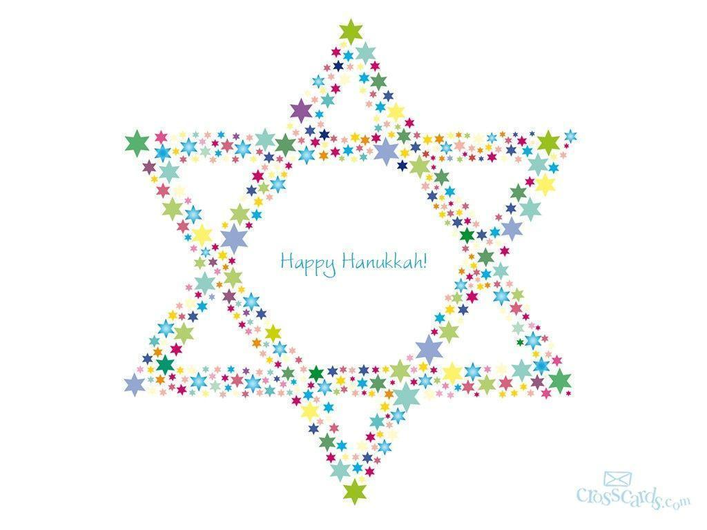 Happy Hanukkah Desktop Wallpaper - Free Winter Computer and Mobile ...
