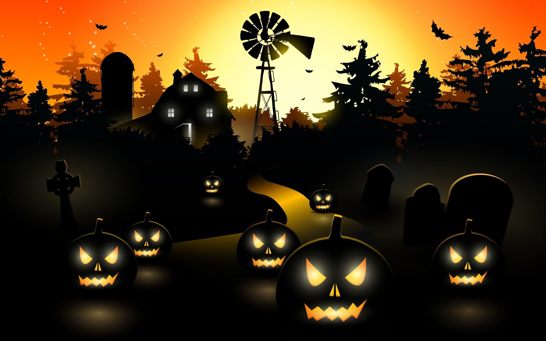 Scary Halloween Wallpaper - Dr. Odd