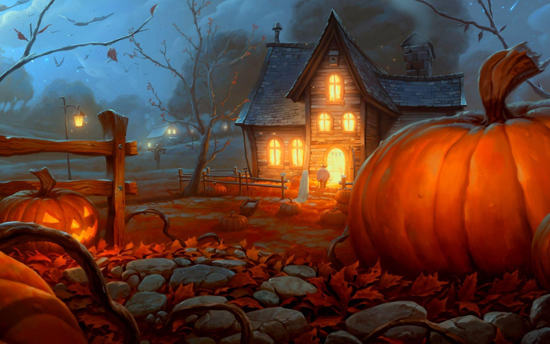 Animated Halloween Wallpapers Group (58+)