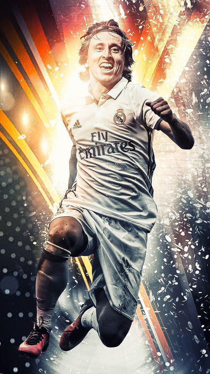 Luka Modric Real Madrid Wallpaper