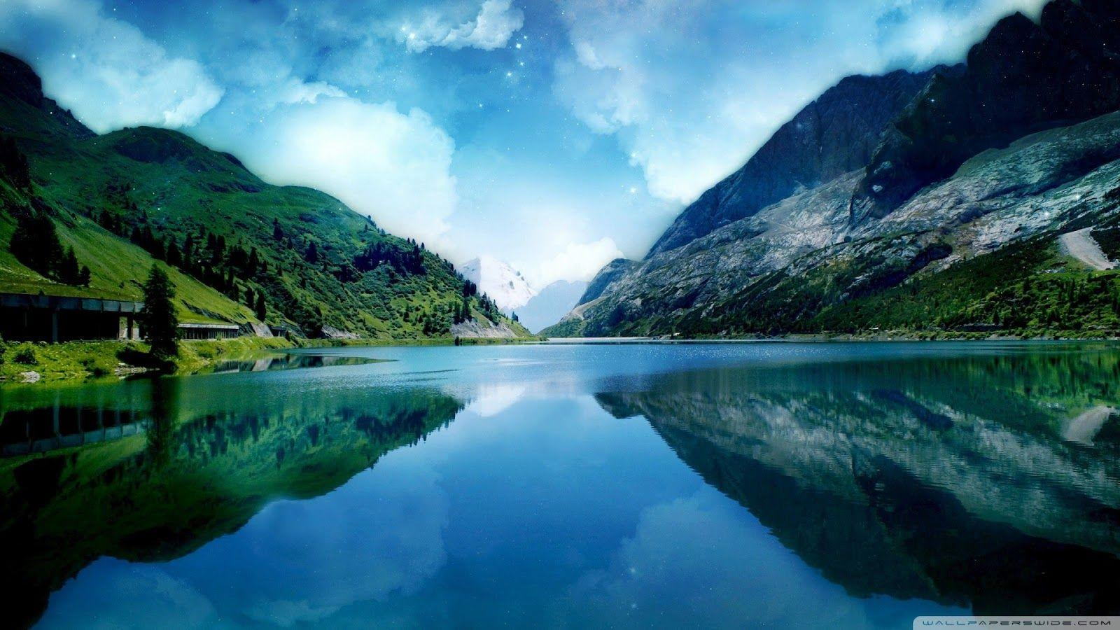 World Most Beautiful Lake Wallpapers | Most beautiful places in ...