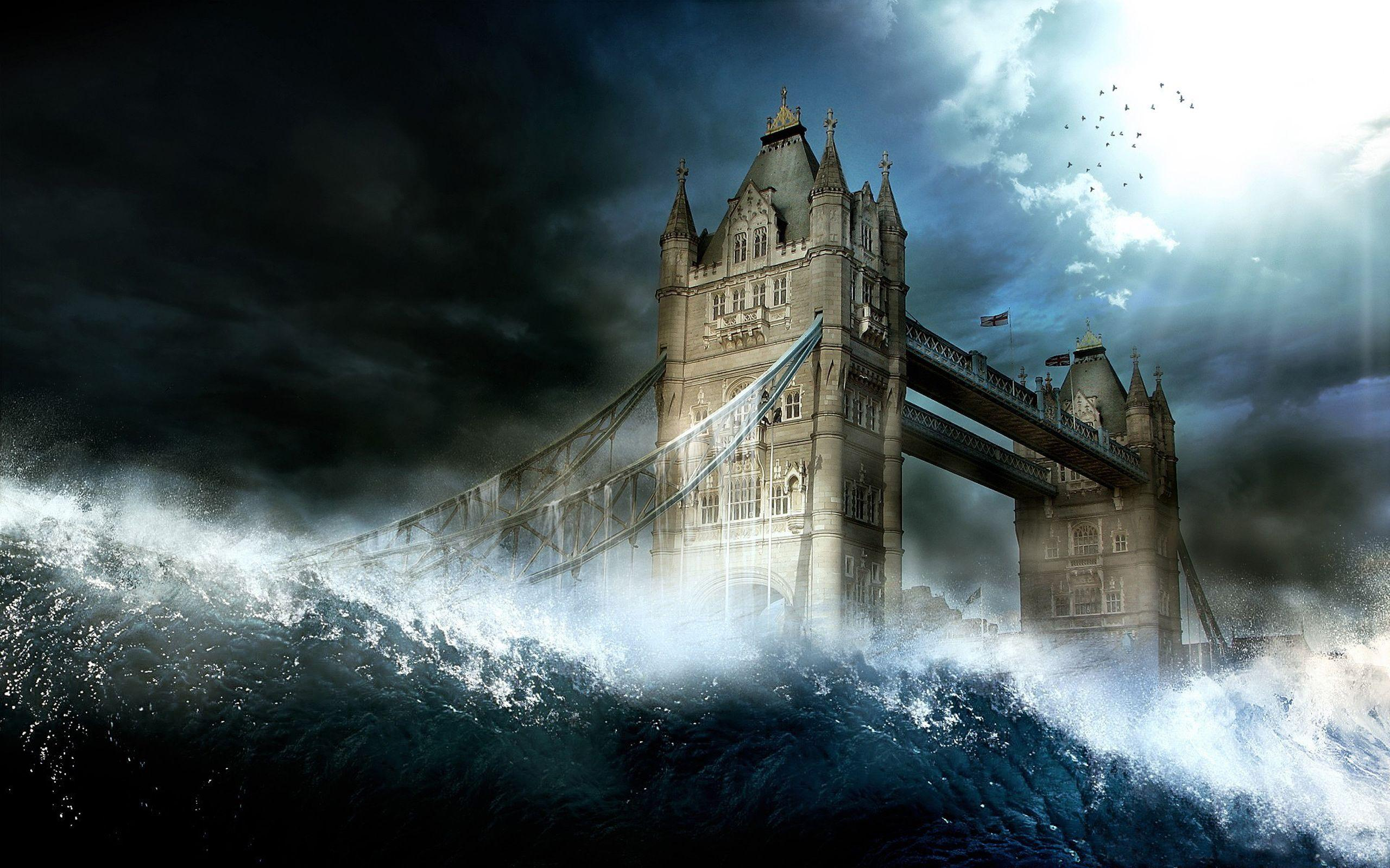 15+ Best HD Tsunami Wallpapers | feelgrPH