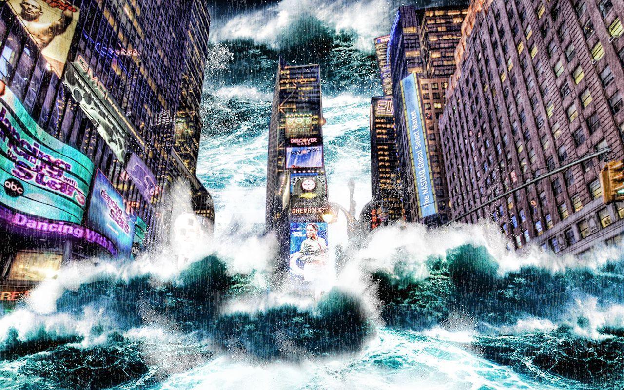 wallpaper tsunami by spaceibiza1313 on DeviantArt