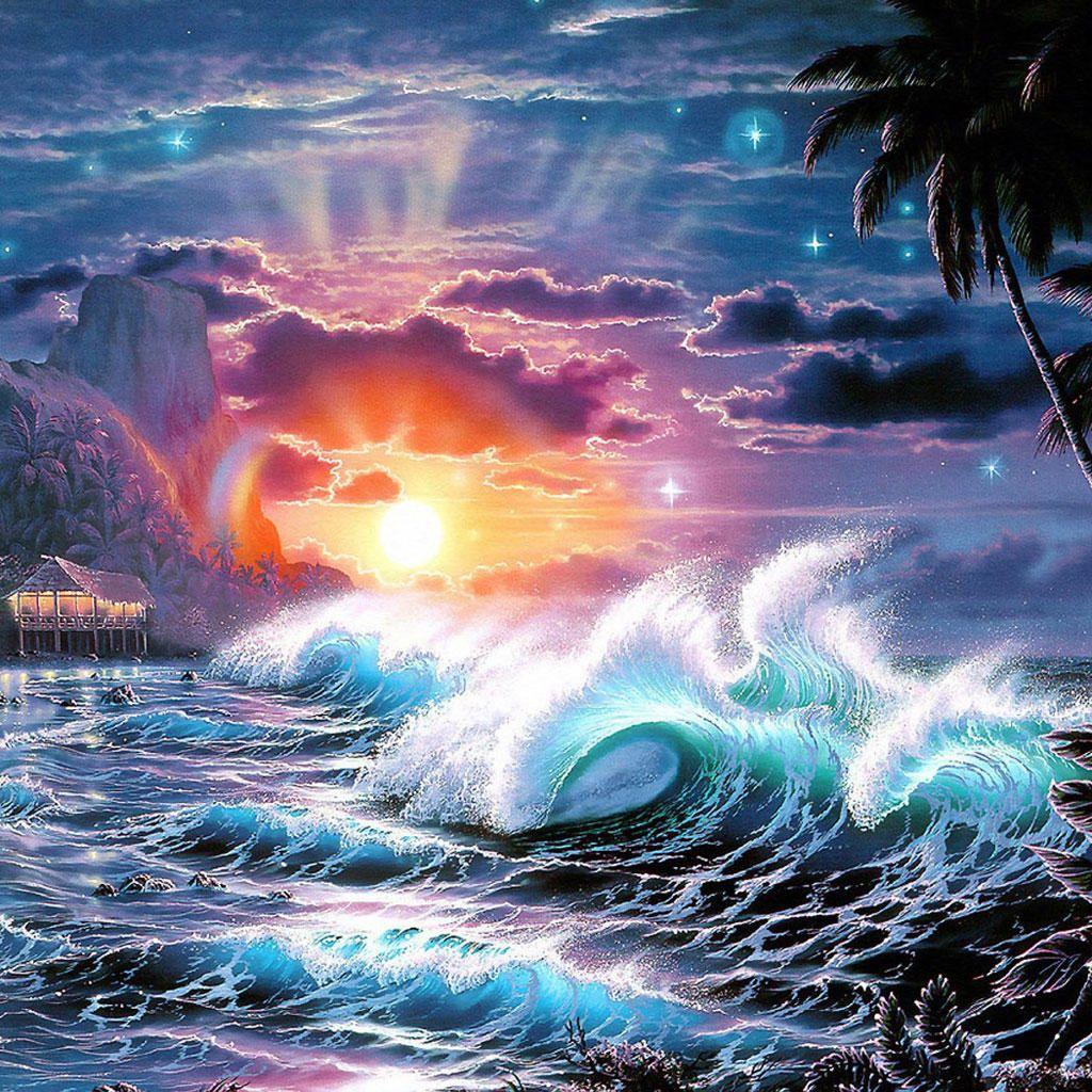 Best Windows Wallpaper Ever Wallpapersafari: Tsunami Wallpapers