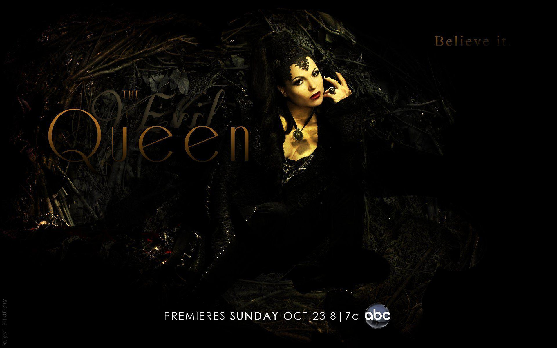 Evil Queen Once Upon A Time Wallpaper