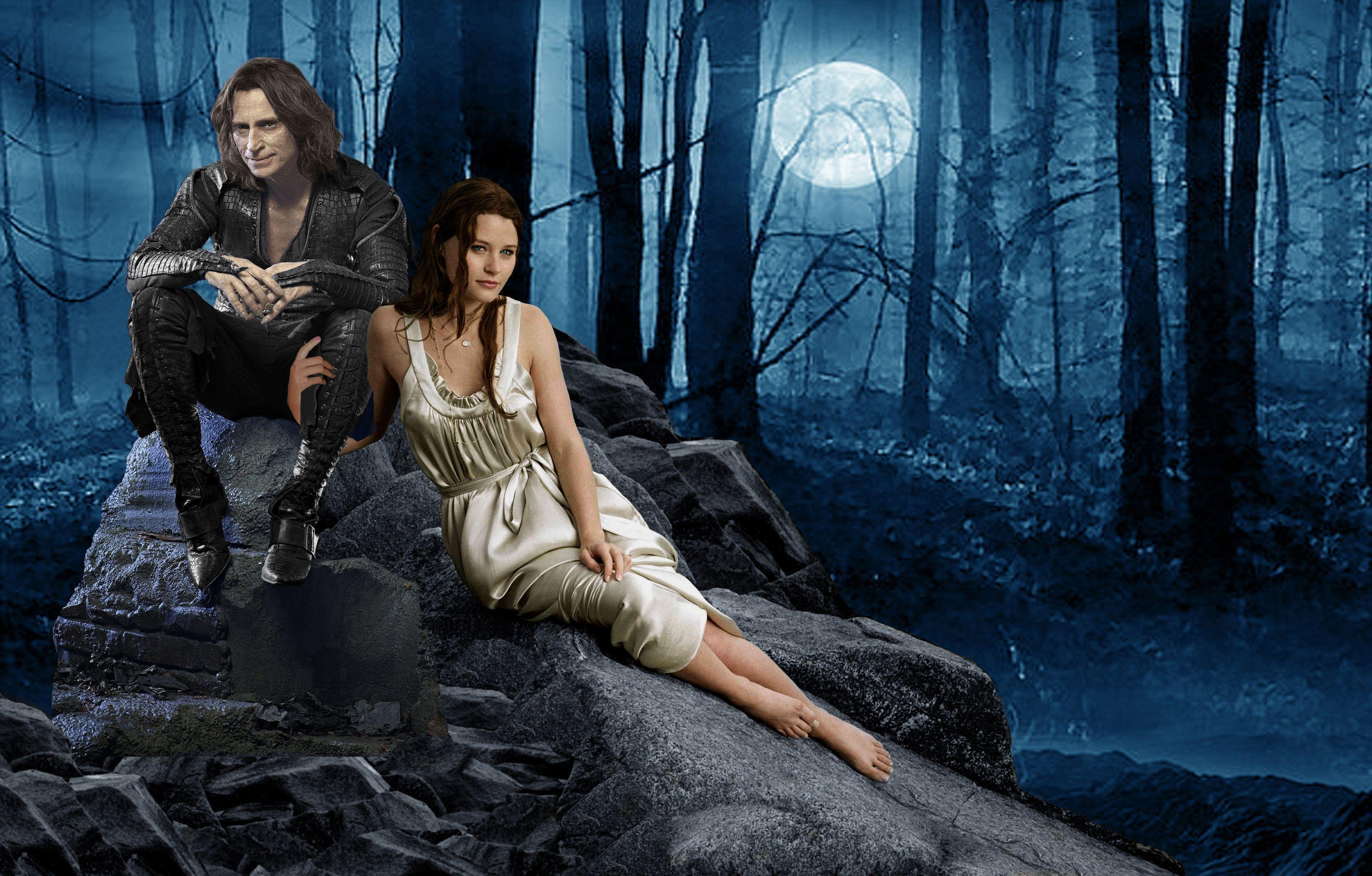Beauty & the Beast Once Upon a Time - Wallpaper #1840 on WallpaperMade