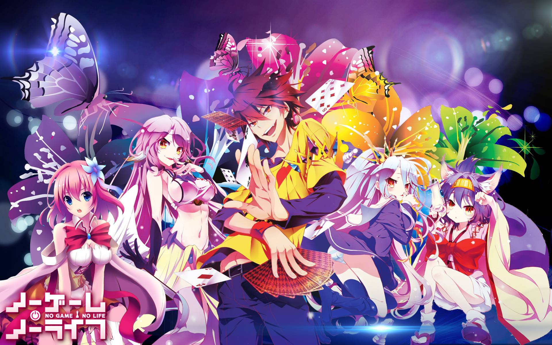 4k Anime No Game No Life Wallpapers Wallpaper Cave