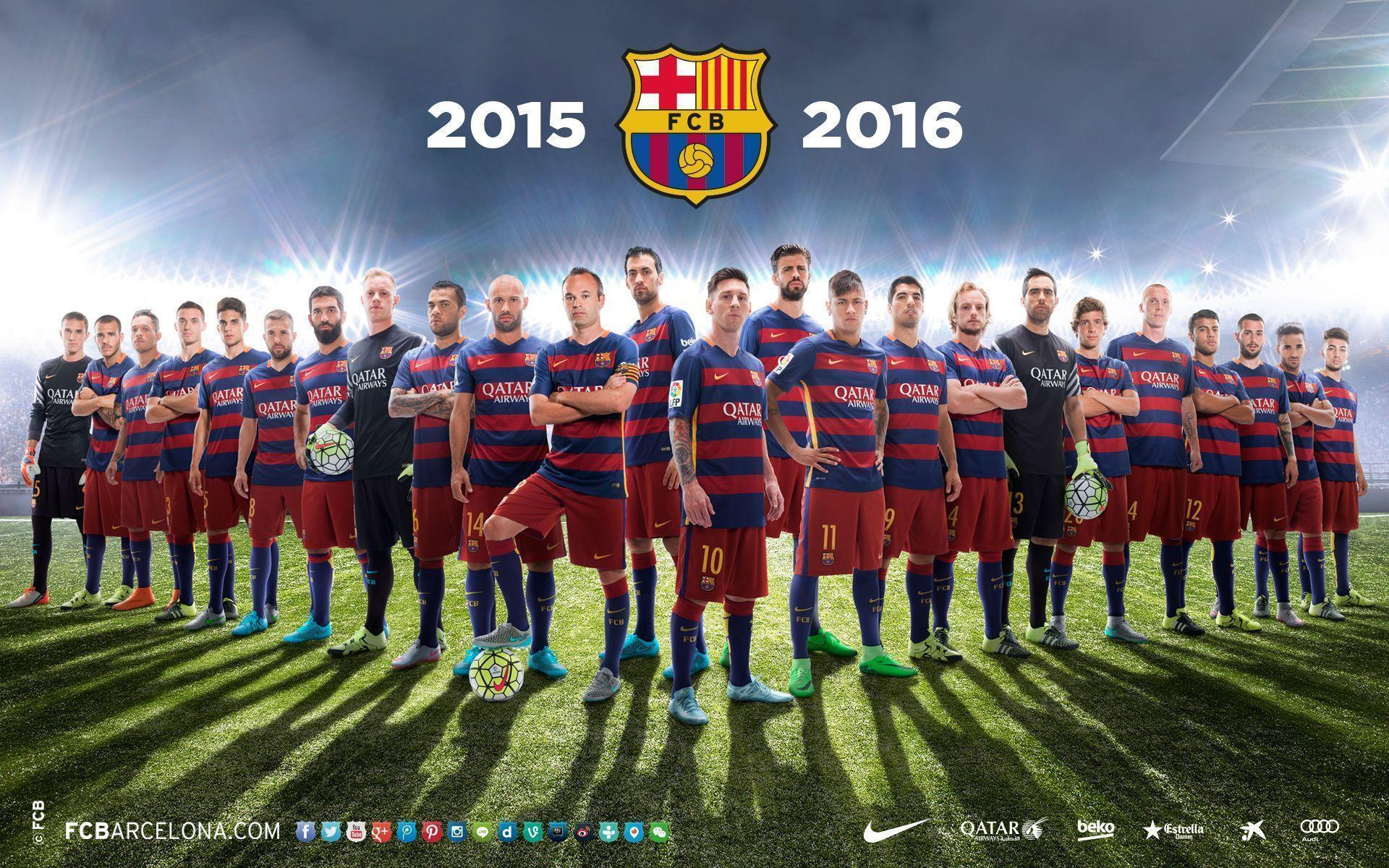 FC Barcelona Wallpapers 2016 | PNG