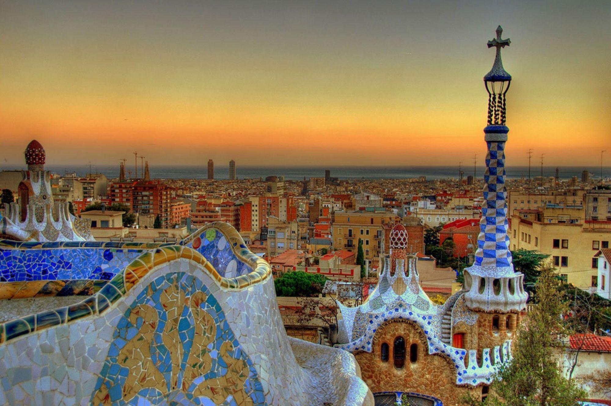 Barcelona City Wallpaper - WallpaperSafari