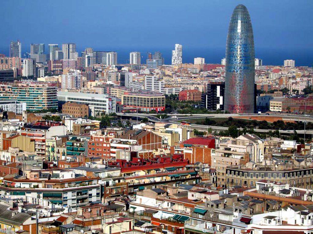 Barcelona City 1024x768 wallpaper