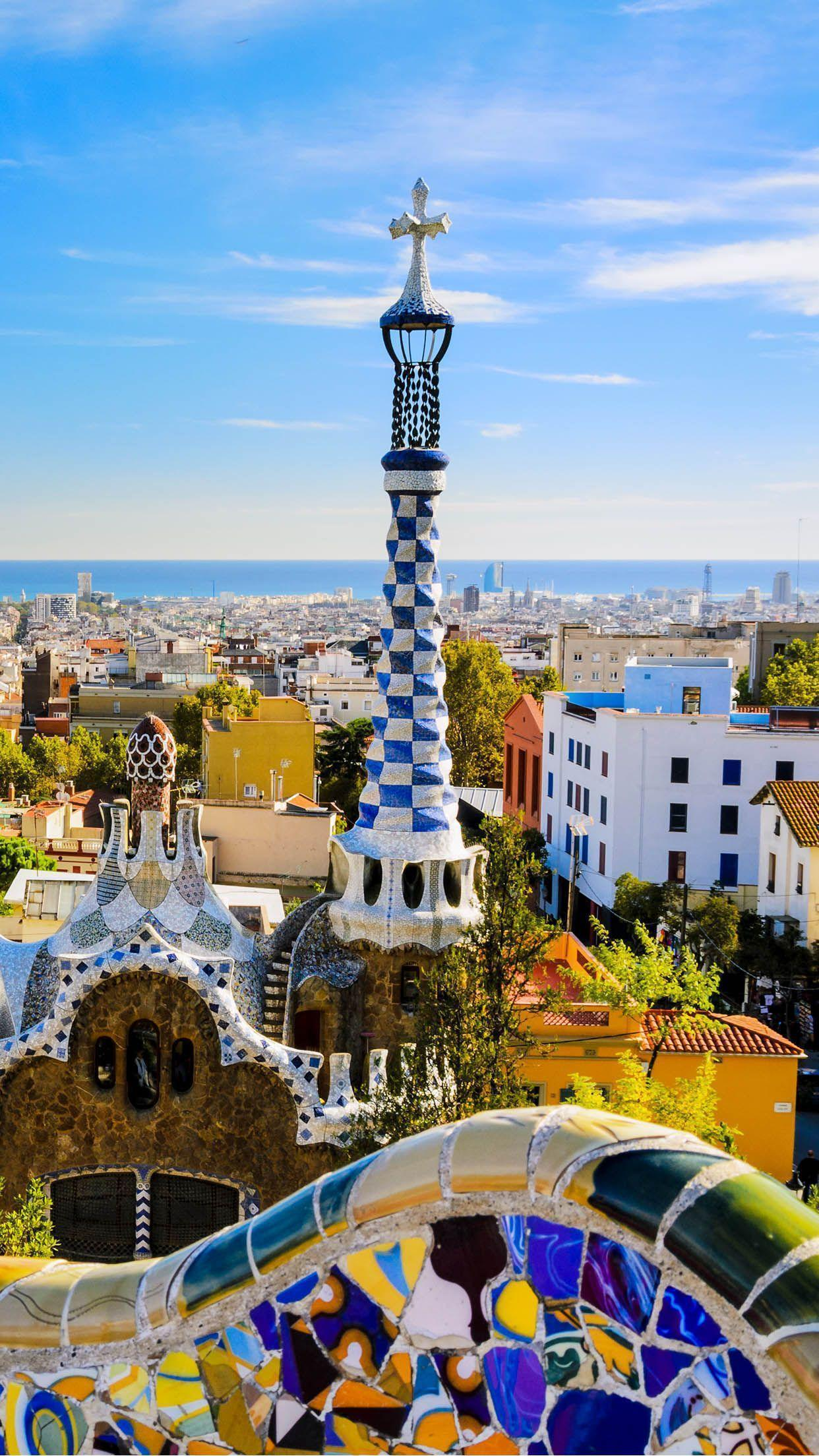 Barcelona Beautiful City Iphone 6plus Hd Wallpapers Free
