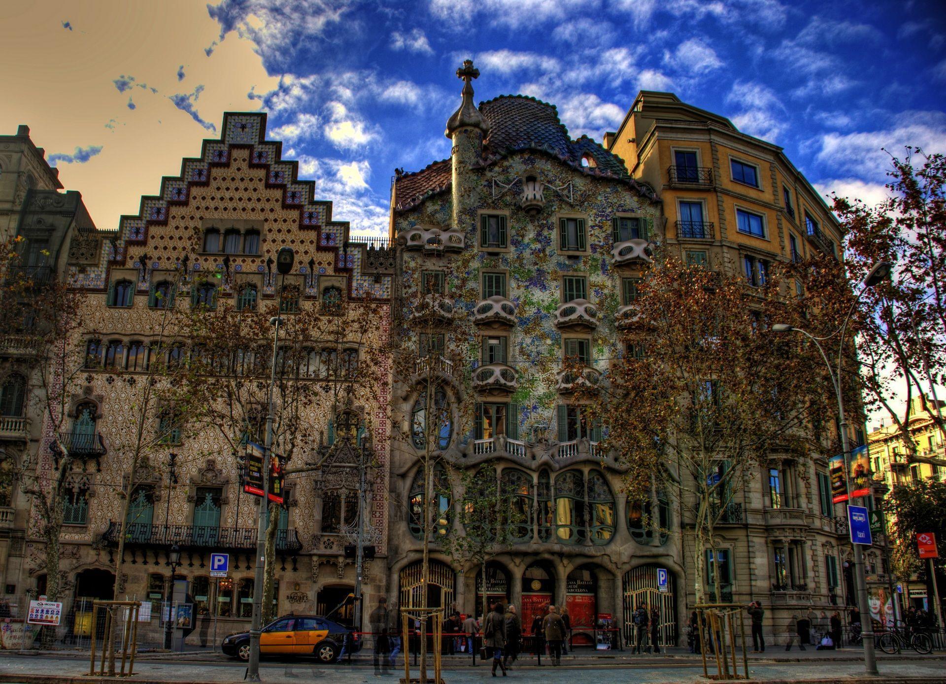 City of Barcelona, Spain Computer Wallpapers, Desktop Backgrounds ...