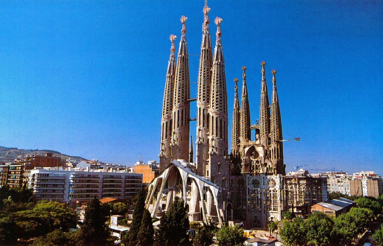 Sagrada Família HD Wallpapers - Travel HD Wallpapers