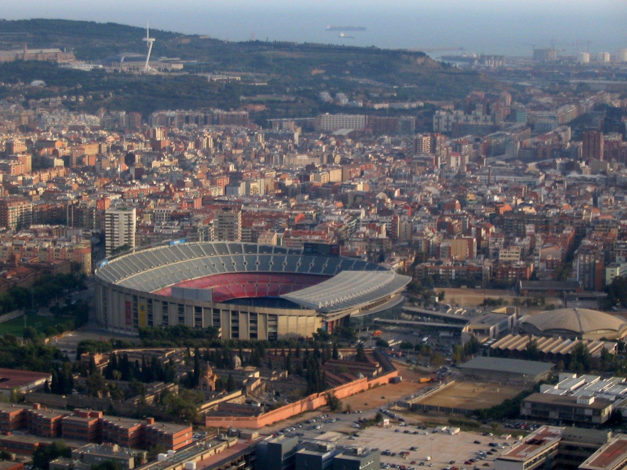 fc barcelona camp nou #bNu-