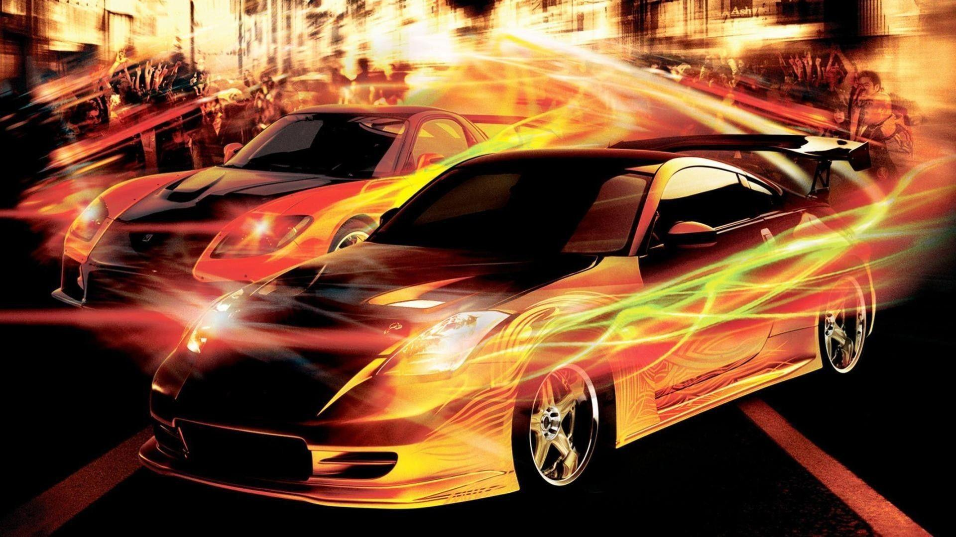 Tokyo Drift Cars Wallpapers Wallpaper Cave