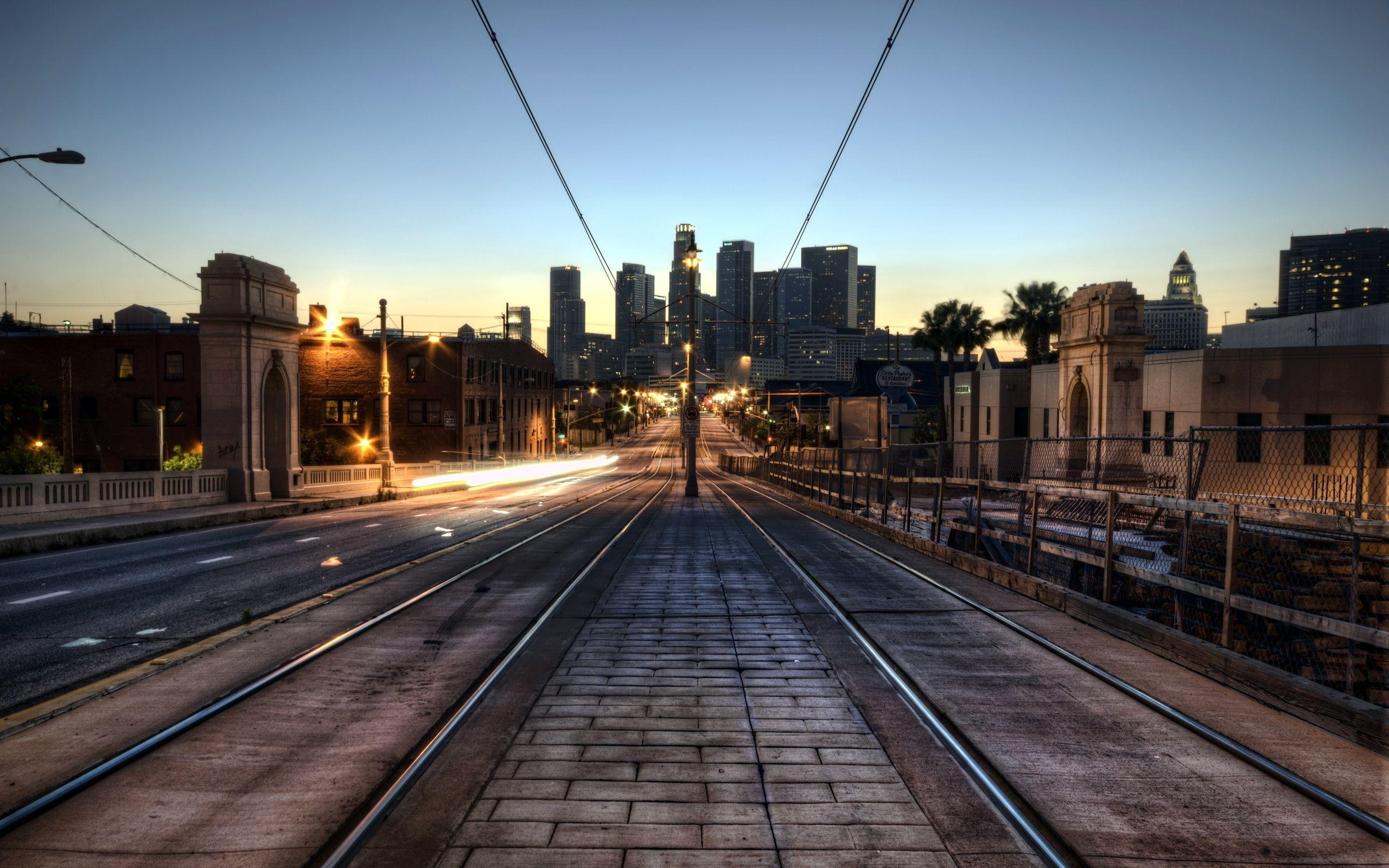 Railway Los Angeles Wallpapers | Pictures