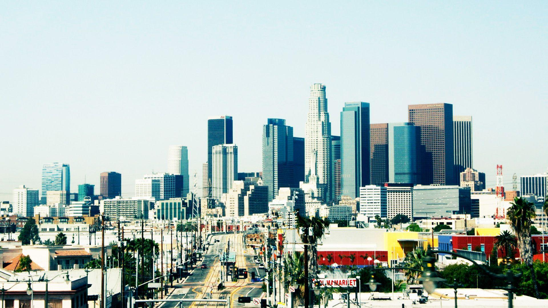 Los Angeles, Downtown wallpaper – wallpaper free download