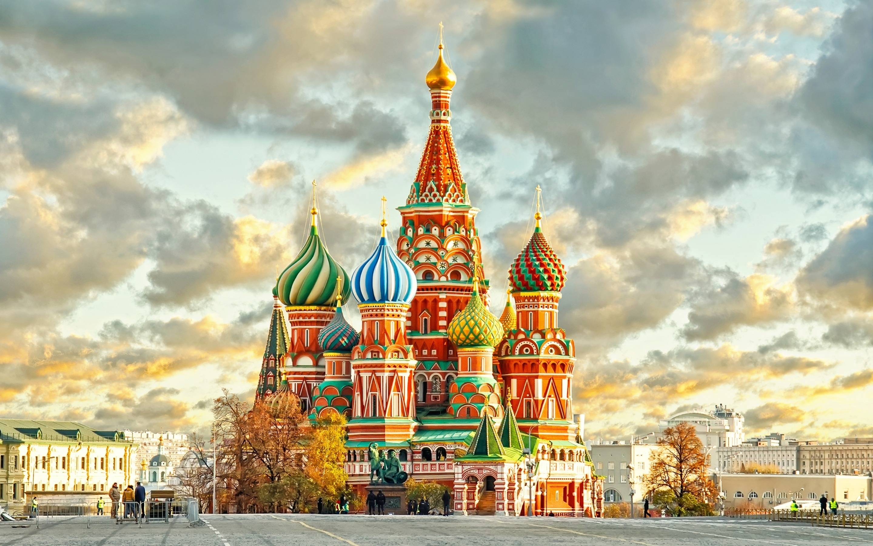 Saint Basil's Cathedral Moscow wallpaper HD background download ...