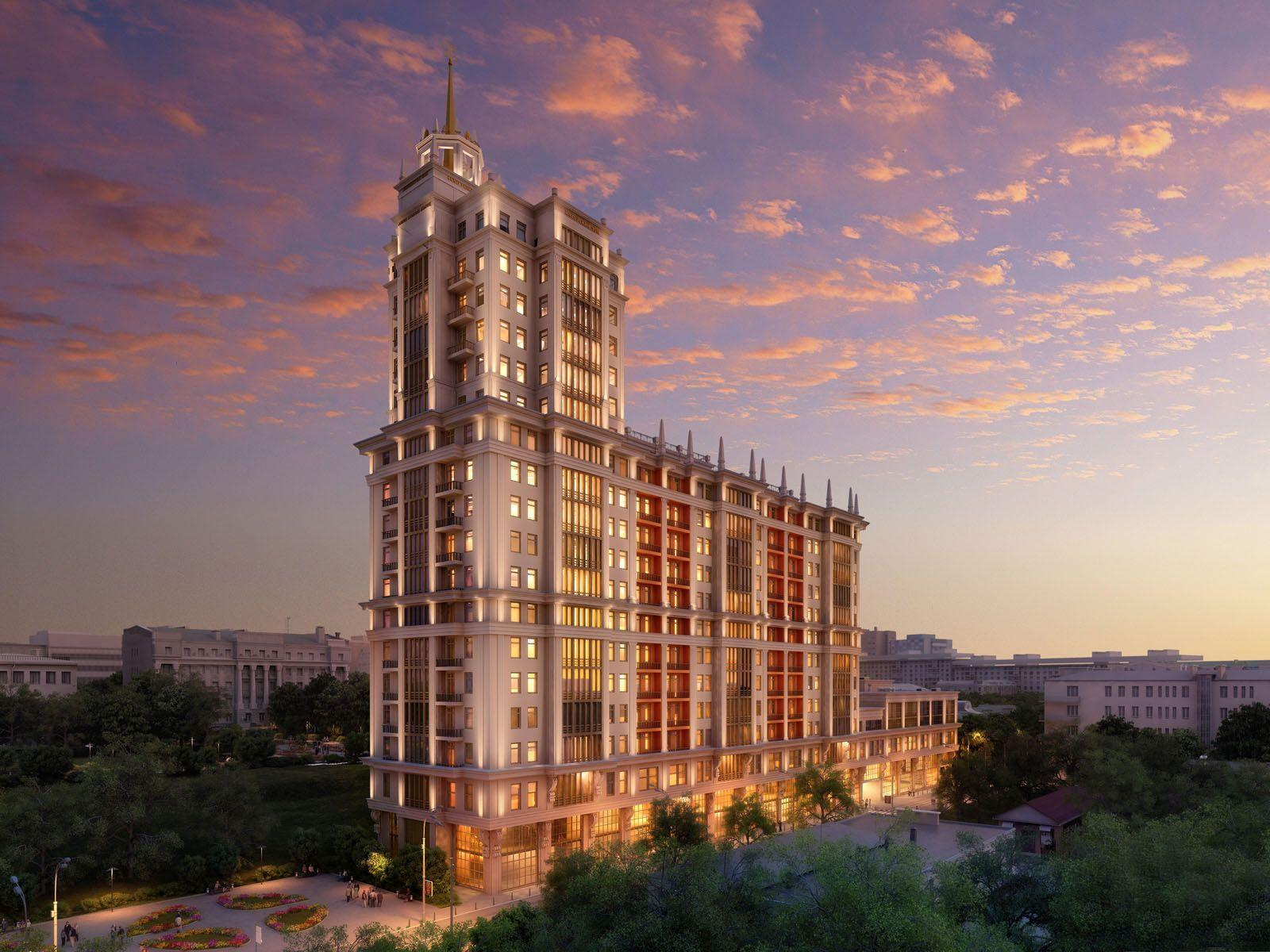 Amazing hotel in moscow wallpapers and images - wallpapers ...