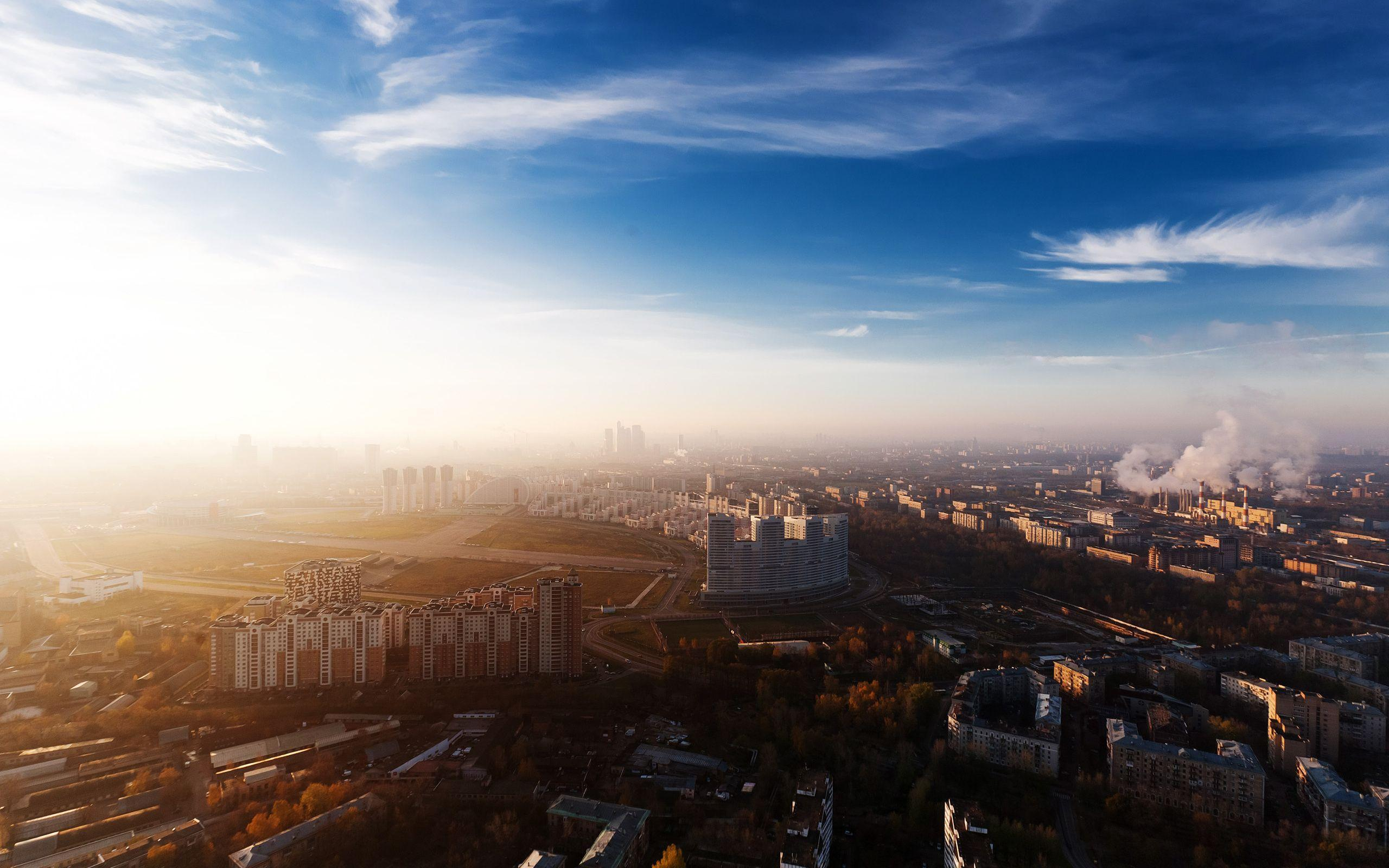 2560x1600 Russia, Home, Panorama, City, Moscow, Overview, Moscow ...