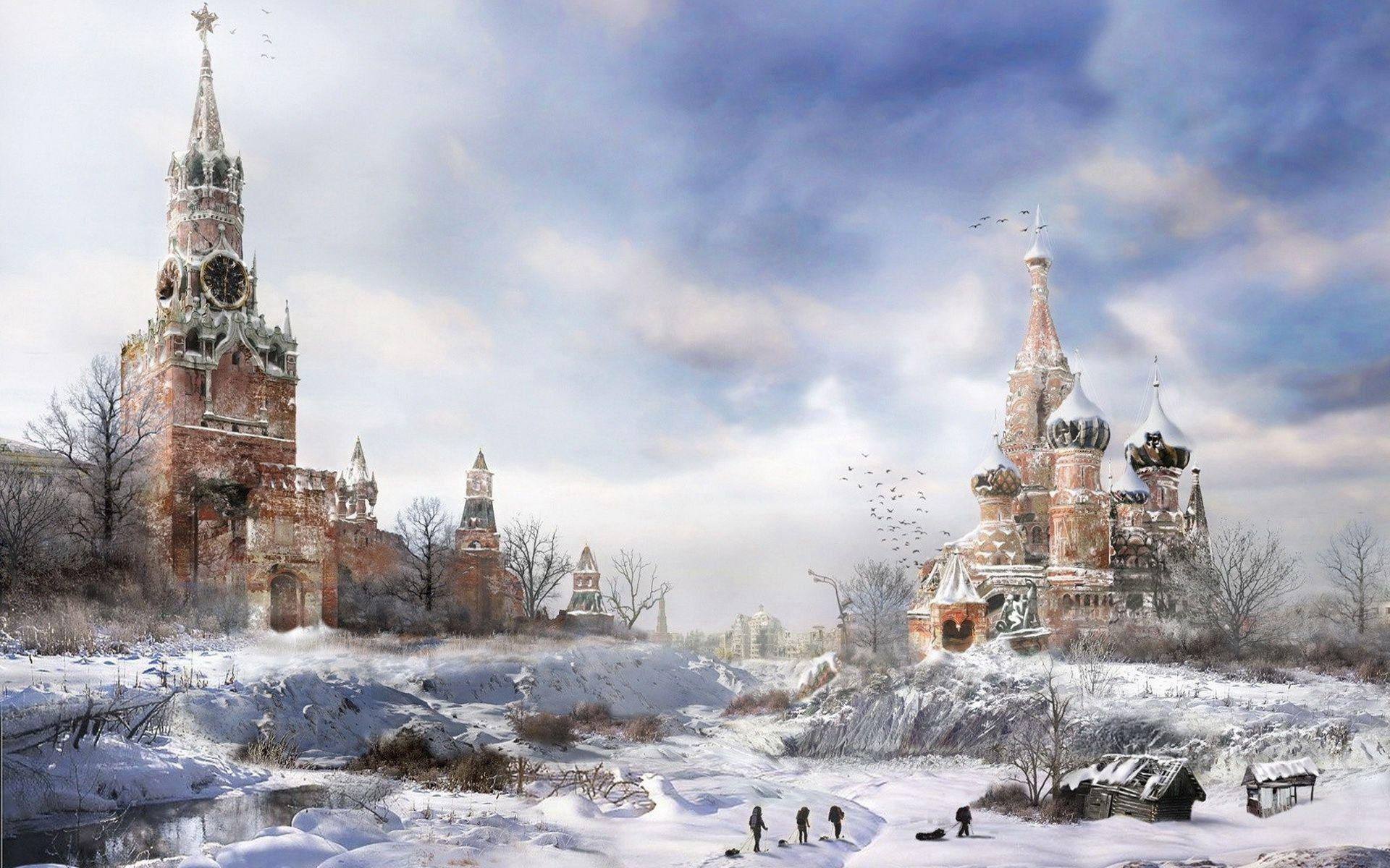 Hd Moscow Wallpaper