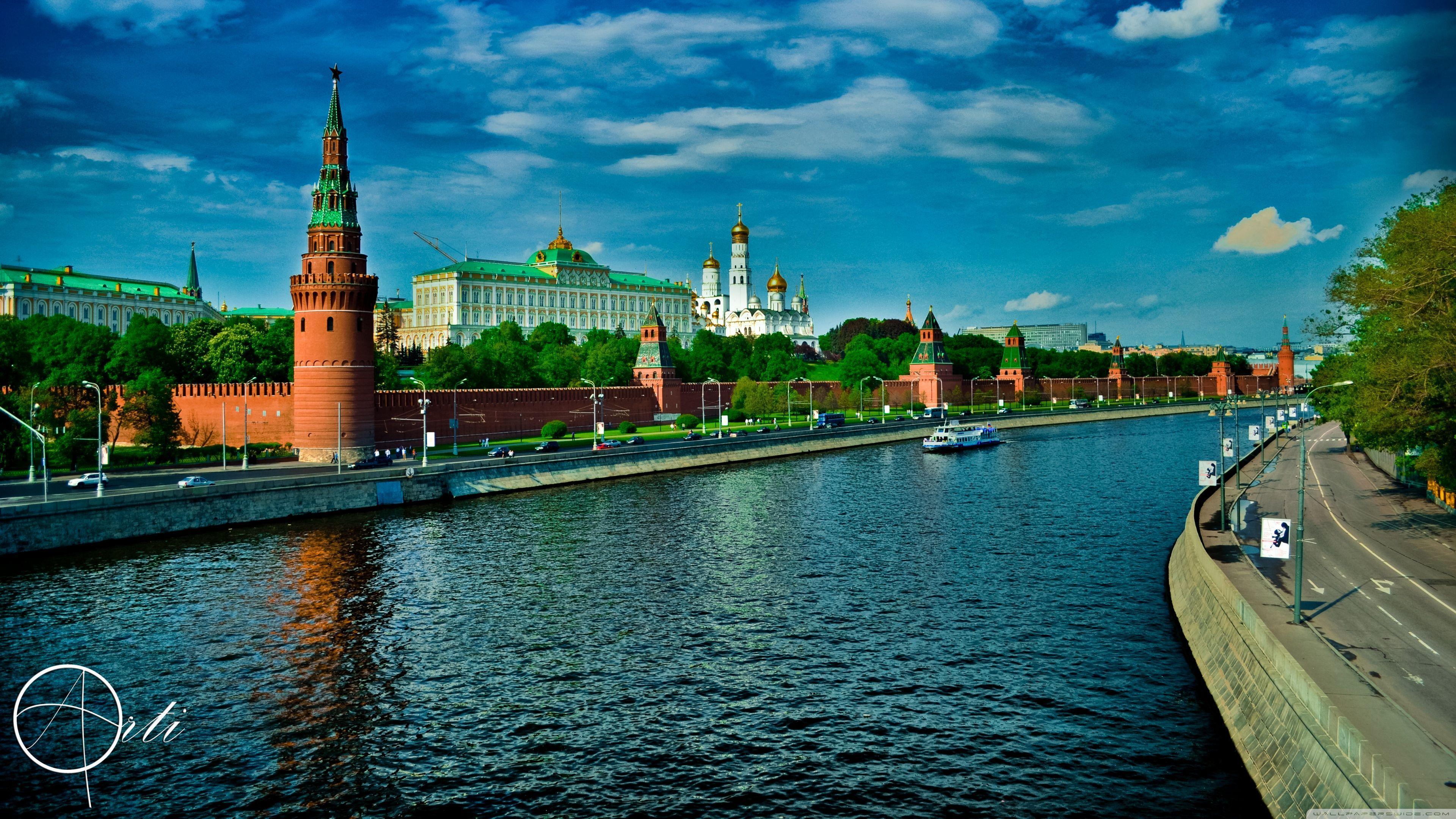 Kremlin Moscow HD desktop wallpaper : High Definition : Fullscreen ...