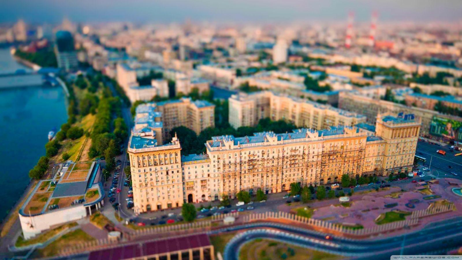 Aerial View Of Moscow HD desktop wallpaper : High Definition ...