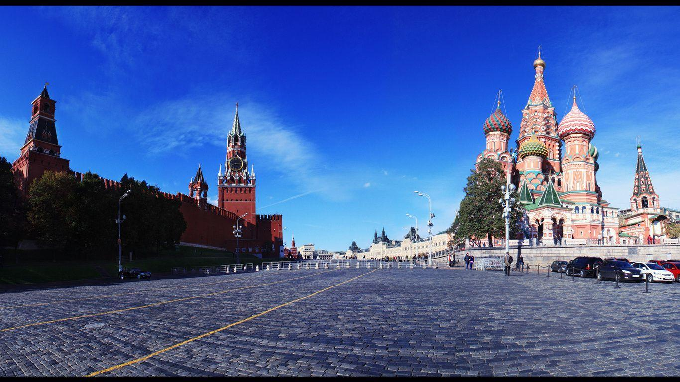 1366x768 City, Russia, Red Square, City, Landscape, Moscow, Russia ...