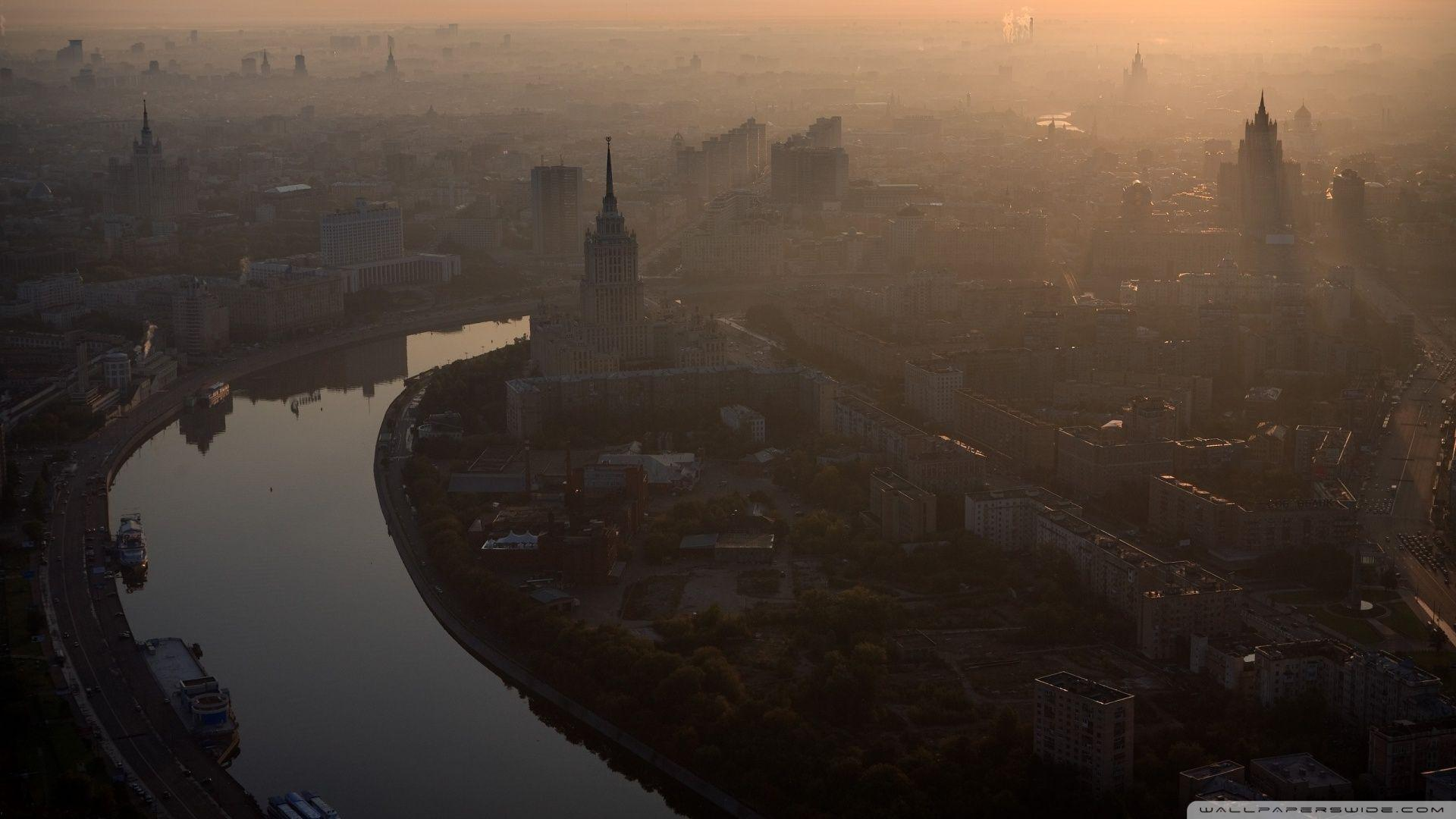 Morning In Moscow HD desktop wallpaper : High Definition ...
