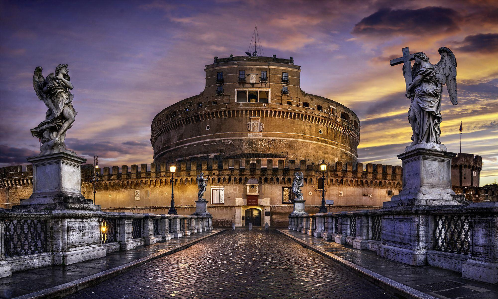 Castel Sant Angelo HD Wallpapers For Desktop in High Quality