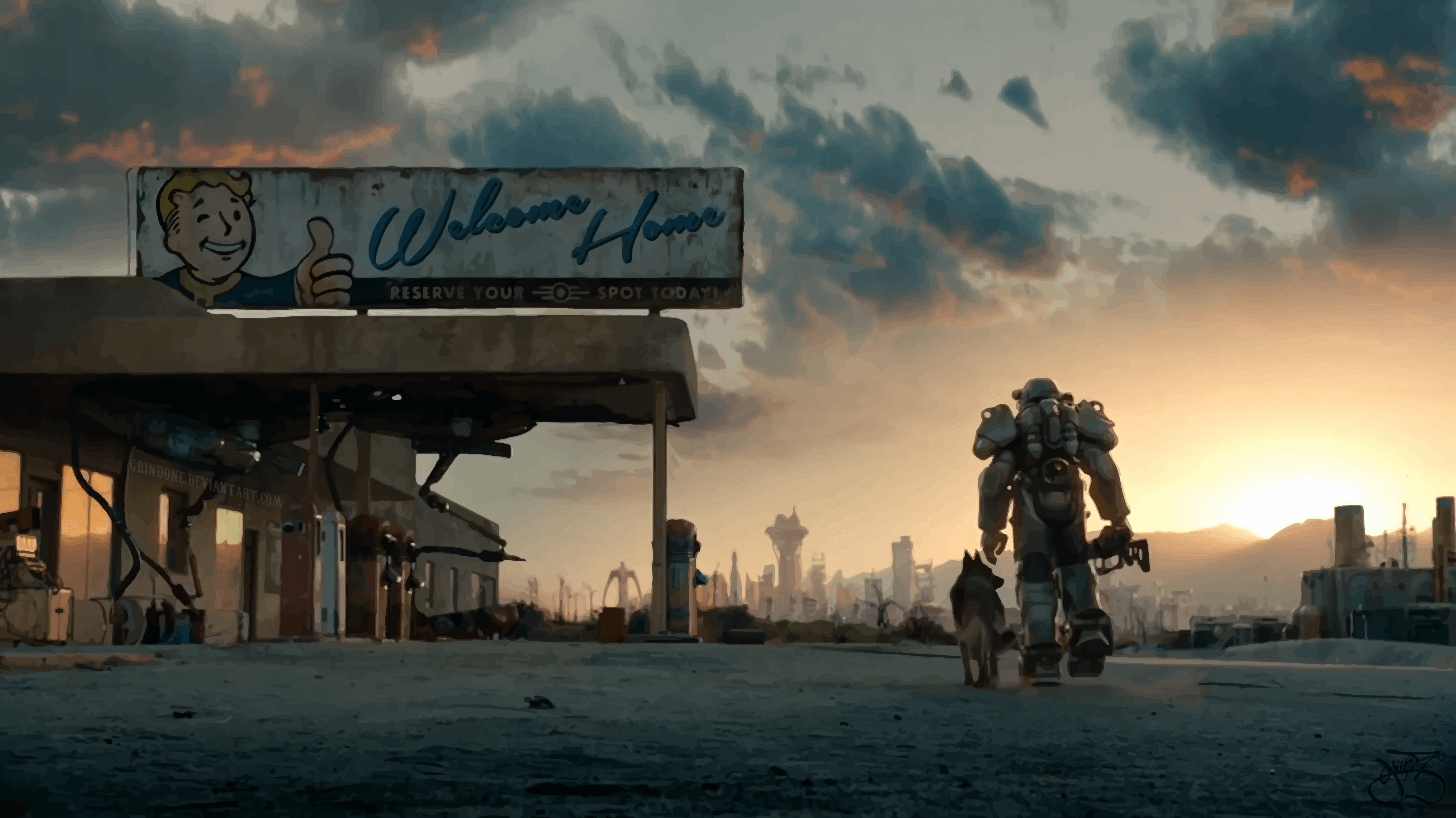 My Fallout wallpapers collection