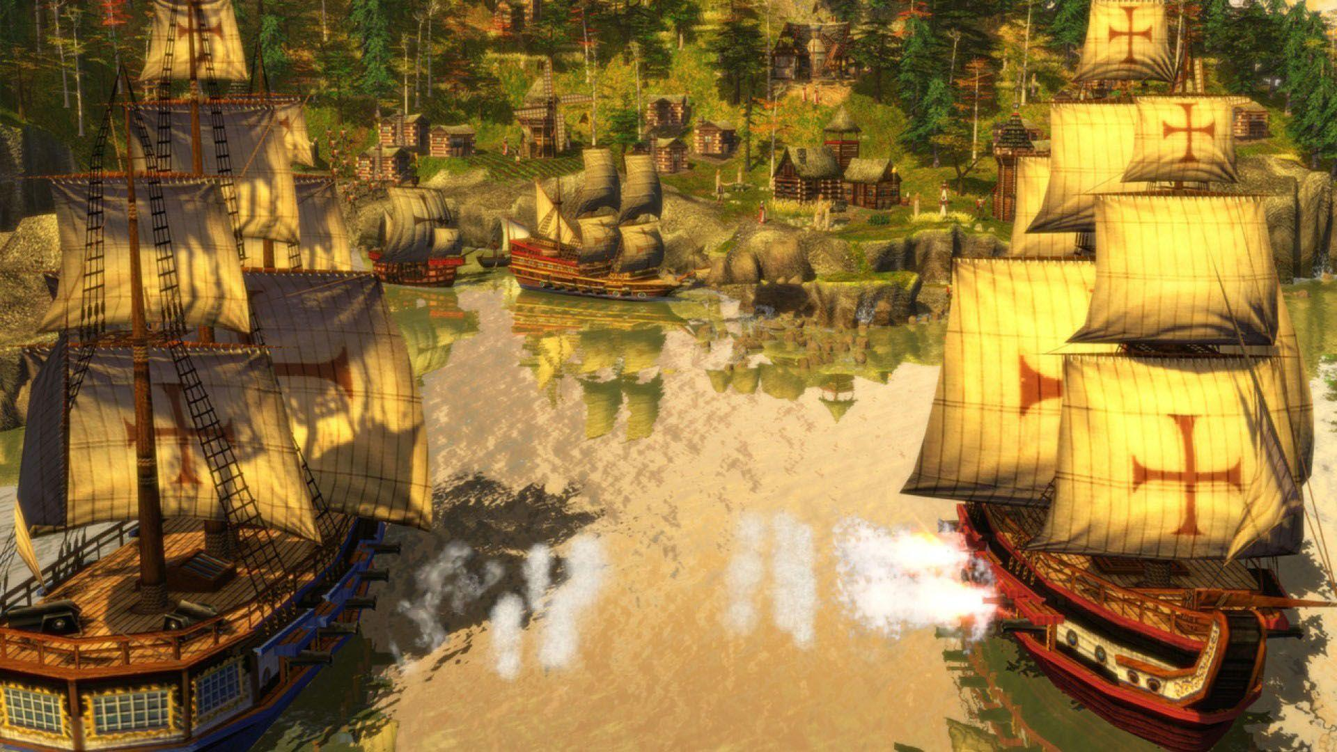 20 Age Of Empires Iii Hd Wallpapers Background Images
