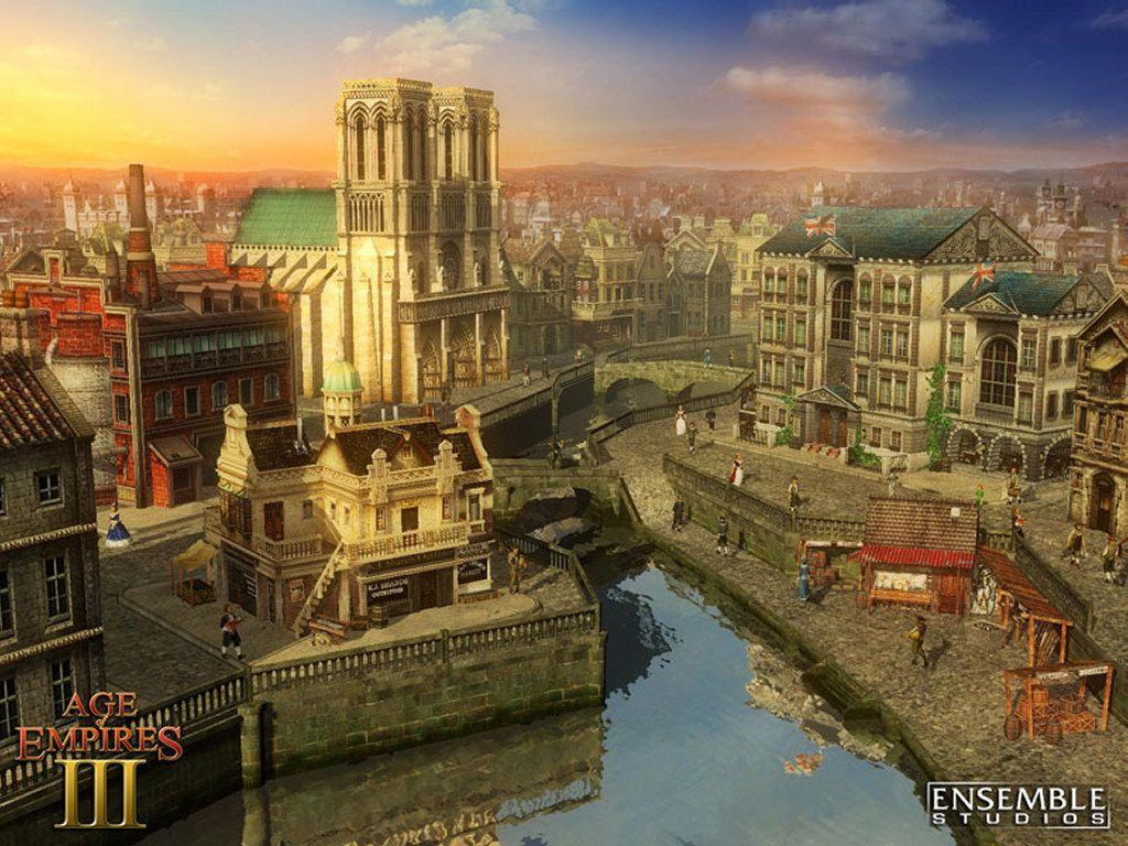 My Free Wallpapers - Games Wallpaper : Age of Empires III