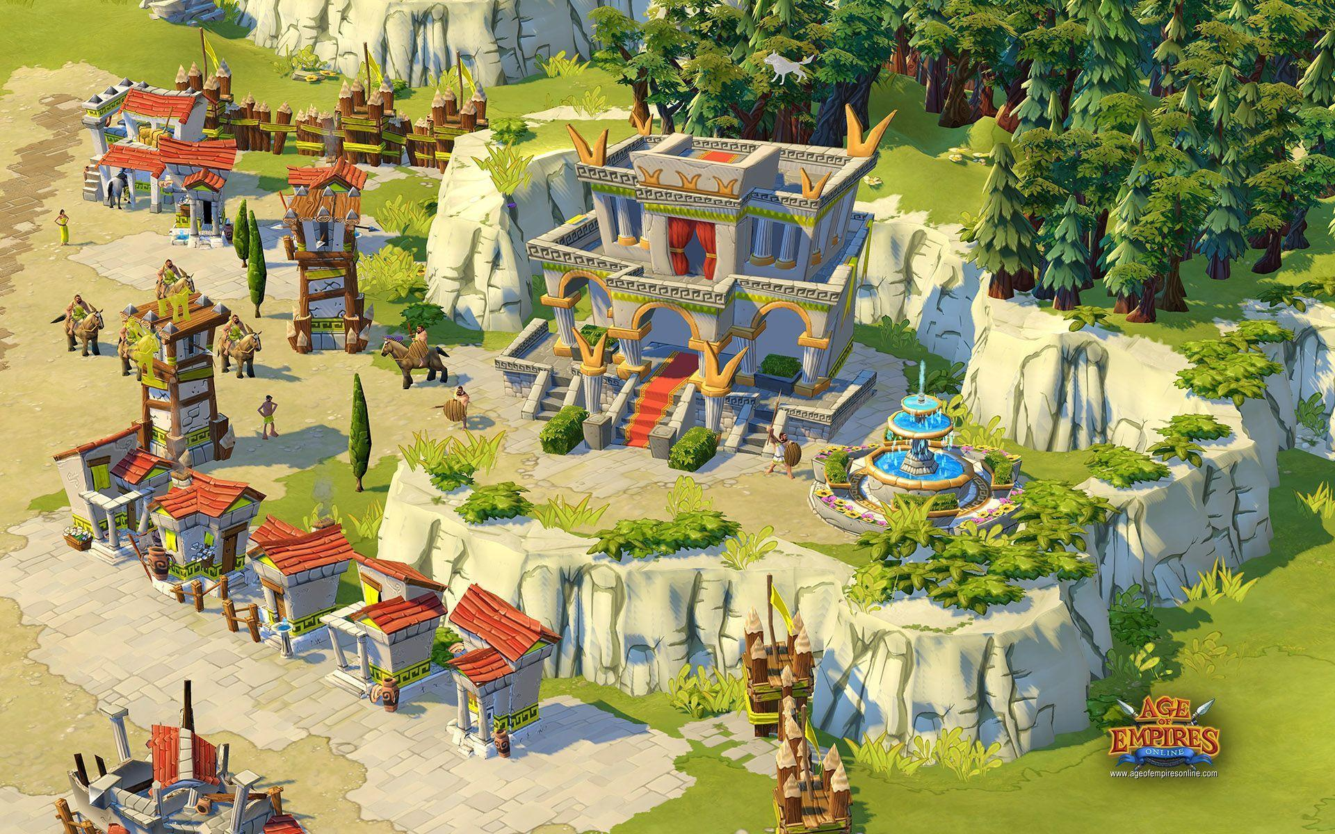 14 Age Of Empires Online HD Wallpapers | Backgrounds - Wallpaper Abyss