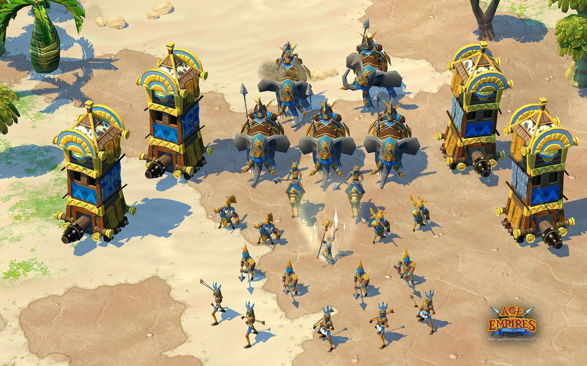 13 Age Of Empires HD Wallpapers | Backgrounds - Wallpaper Abyss