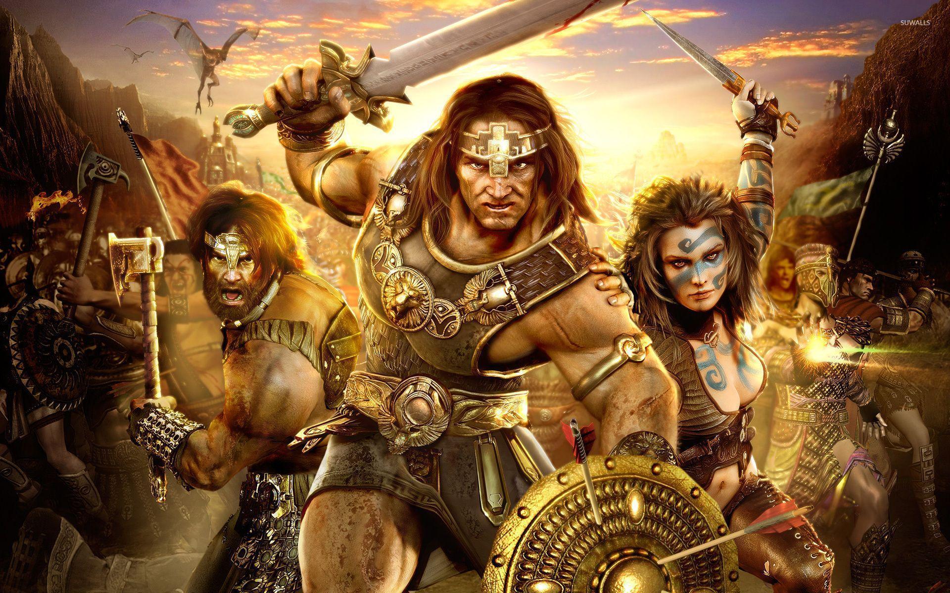 Age Of Conan: Hyborian Adventures wallpaper - Game wallpapers - #4705