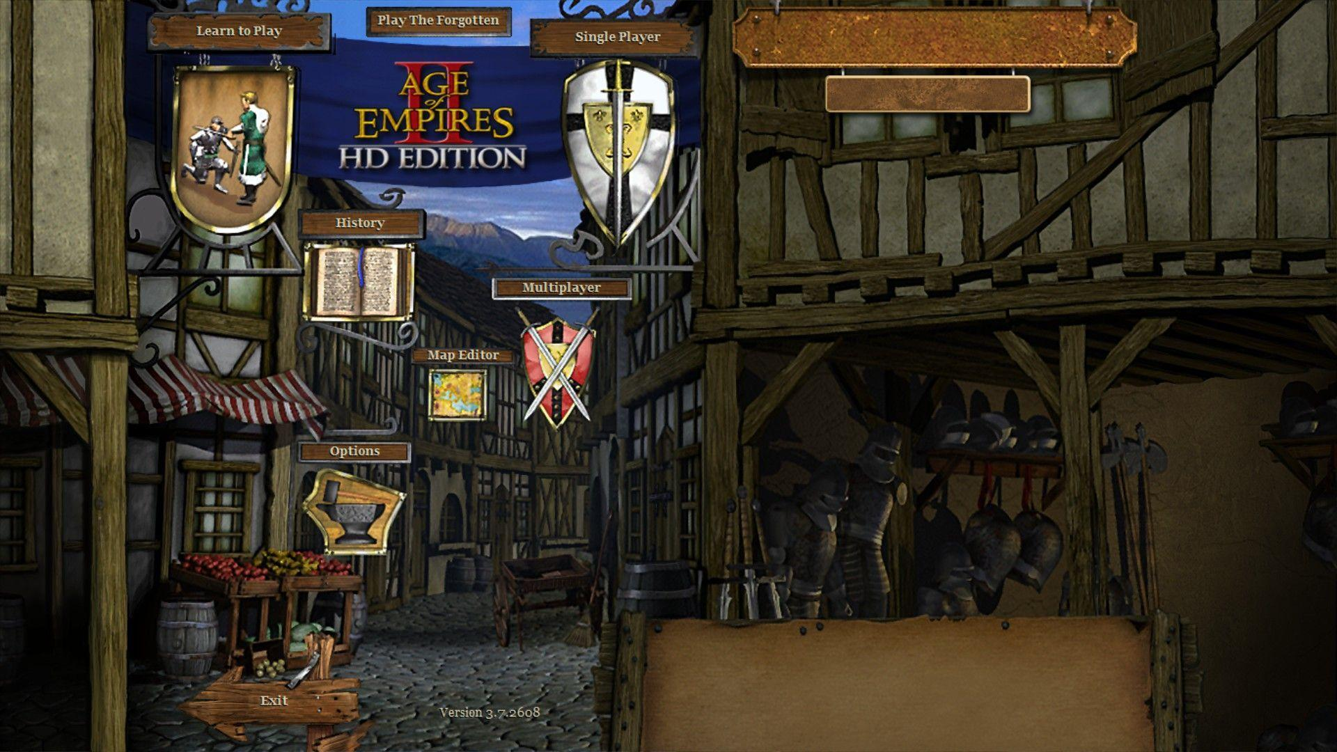 Age of Empires II HD Main Menu picture - ID: 4728