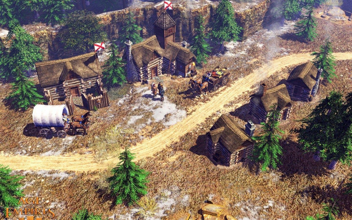 Age of Empires III, computer games 1440x900, widescreen wallpapers ...