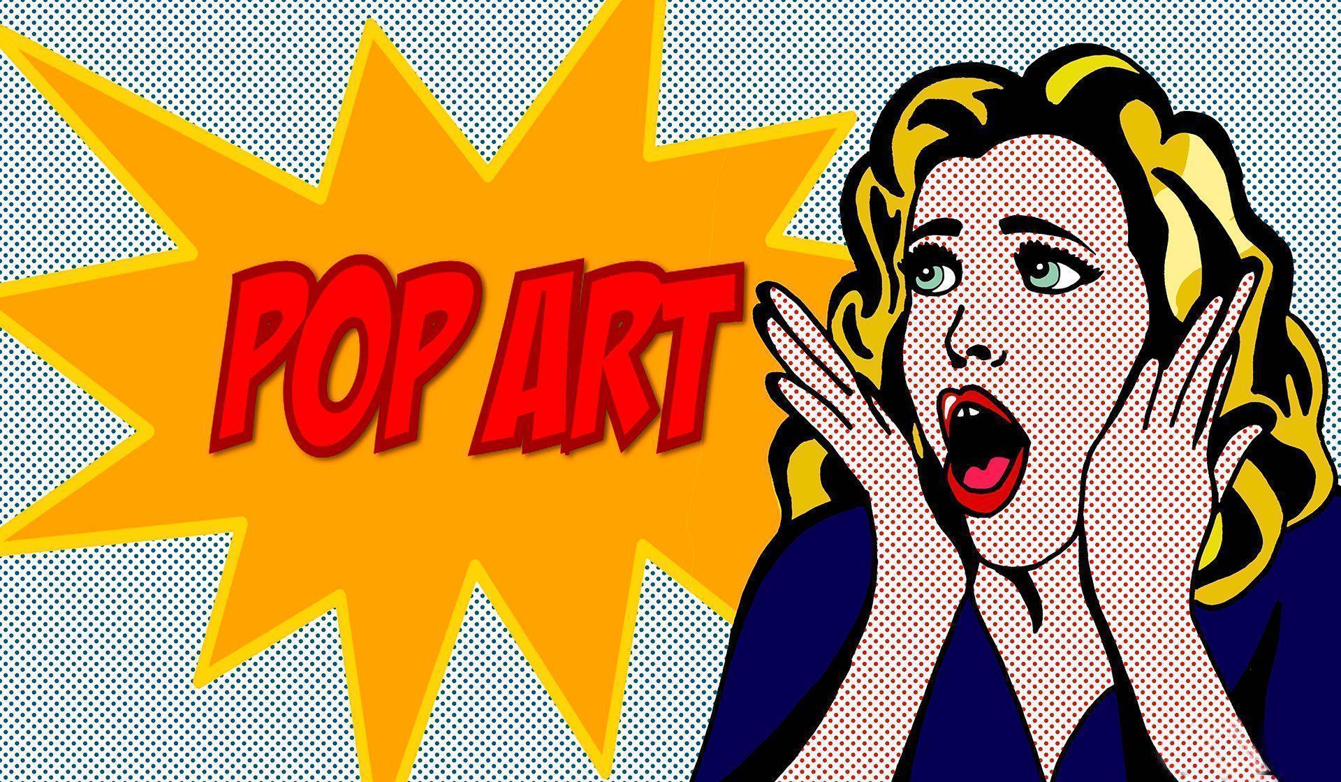 Pop Art Wallpapers - Wallpaper Cave