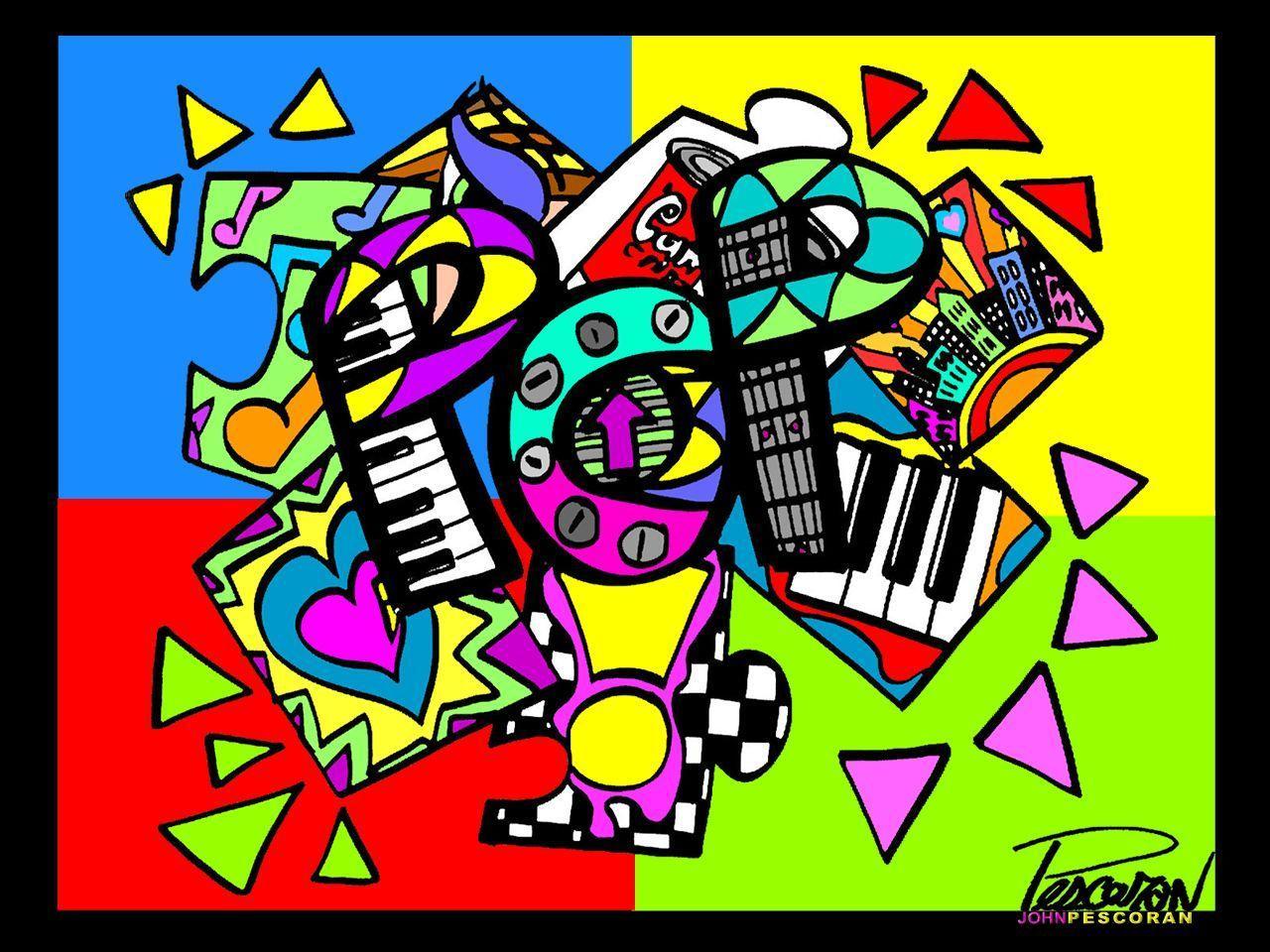 Pop art wallpapers wallpaper cave - Wallpaper artist music ...