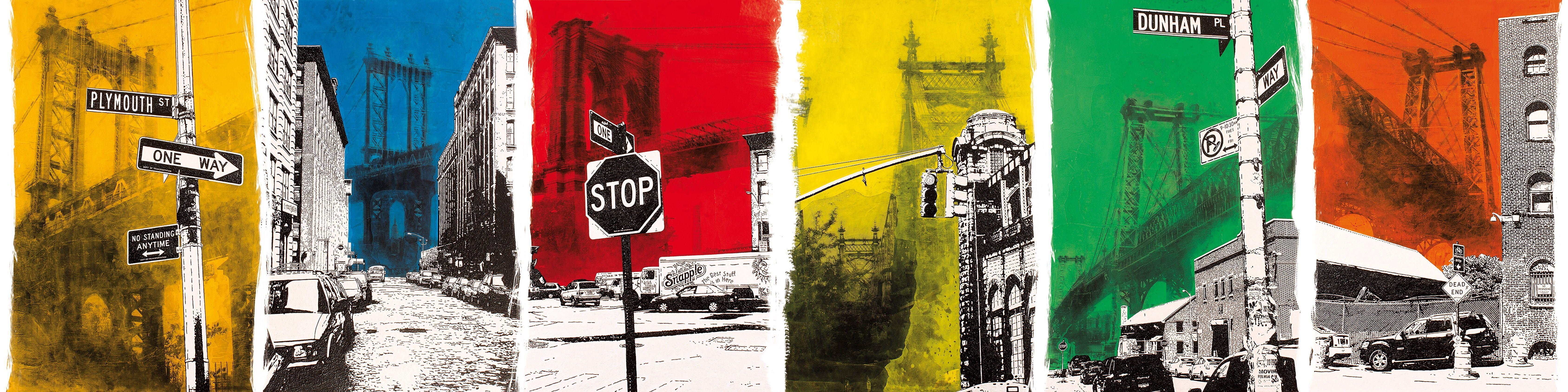 Pop art wallpapers MANHATTAN Artists Collection by Inkiostro Bianco