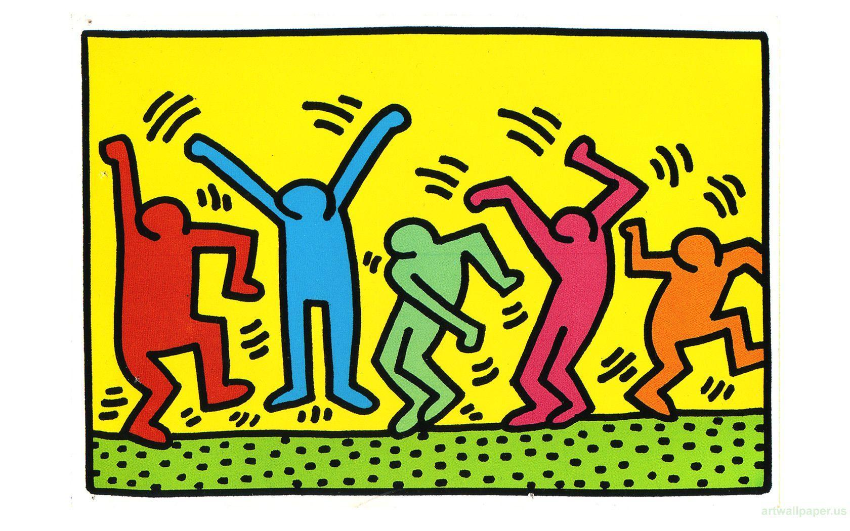 Keith haring, Pop art wallpapers and Pop art