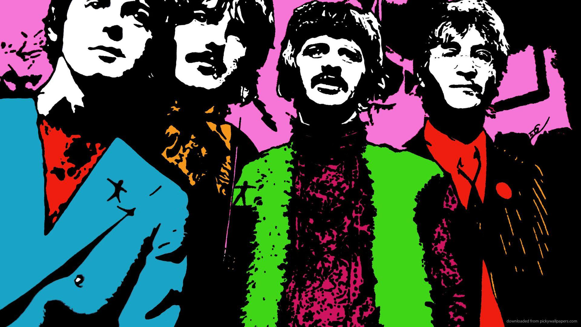 Beatles Pop Art Wallpapers by HD Wallpapers Daily