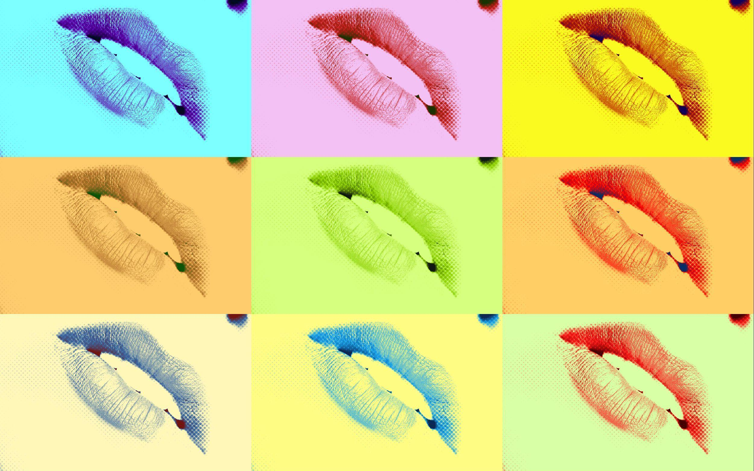Pop Art Lips Wallpapers by HD Wallpapers Daily